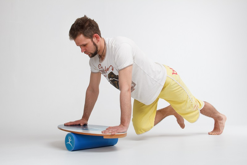 The exercises on the Balance Board