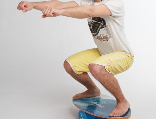 How to Exercise on a Balance Board: Legs