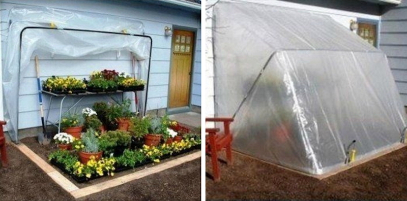 Easy-to-make greenhouse