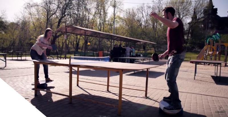 Balance Board for Table Tennis