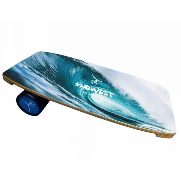 BEST BALANCE BOARD TRAINERfor any board sports: Skateboarding, Snowboarding, Skiing, Surfing, Wakeboarding. It's also a good trainer for Fitness, Yoga, Training, Workout, Exercises. Needless to mention, it's the best trainer foreveryone who wants to learn to keep the balance well and without much efforts. VERSATILE TRAINER: learn to keep the balance, make your core muscles stronger and get a proper posture, improve quick reaction reflexes and agility skill. FITS EVERYBODY: It's a great balance board for everyone: no matter you're a novice or you're a professional sportsman. You can use it in the gym, at the office, or right in your own living room. It perfectly works on any surface. Our wooden balance board is used to hone skill of hockey players, golfers, dancers, wrestlers; it is also used in ballet, dancing clubs, pilates class, judo, karate and in extreme sports including skating and rolling. YOU'LL GET THE WHOLE PACKAGE: Hardwood board (with so-called fixers) | Roller | Exercises and User Guide. ECO-FRIENDLY: Balance board is made of high-guality and strong wood. ENJOY! IT'S FUN AND USEFULL! It's your professional personal training board.